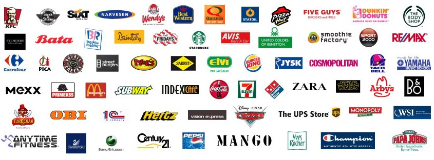 Franchise-Franczyza-brands-logos